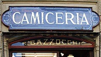 Insegna Camiceria Bazzocchi - Camicie su misura